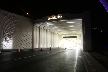 Marking a New Epoch in Transportation,  Passage of Vehicles Starts at Eurasia Tunnel